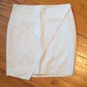Banana republic Sloan-fit foldover mini skirt.